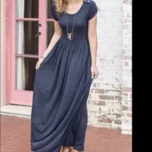 Matilda Jane Women's Deep Water Maxi Dress